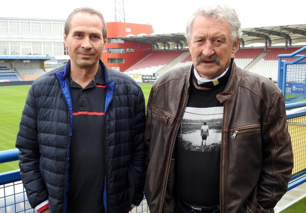 Pohled do kroniky jihlavského fotbalu s Miroslavem Havlíčkem a Josefem Sackým