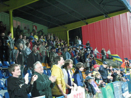 Fanoušci znovu na stadionu!