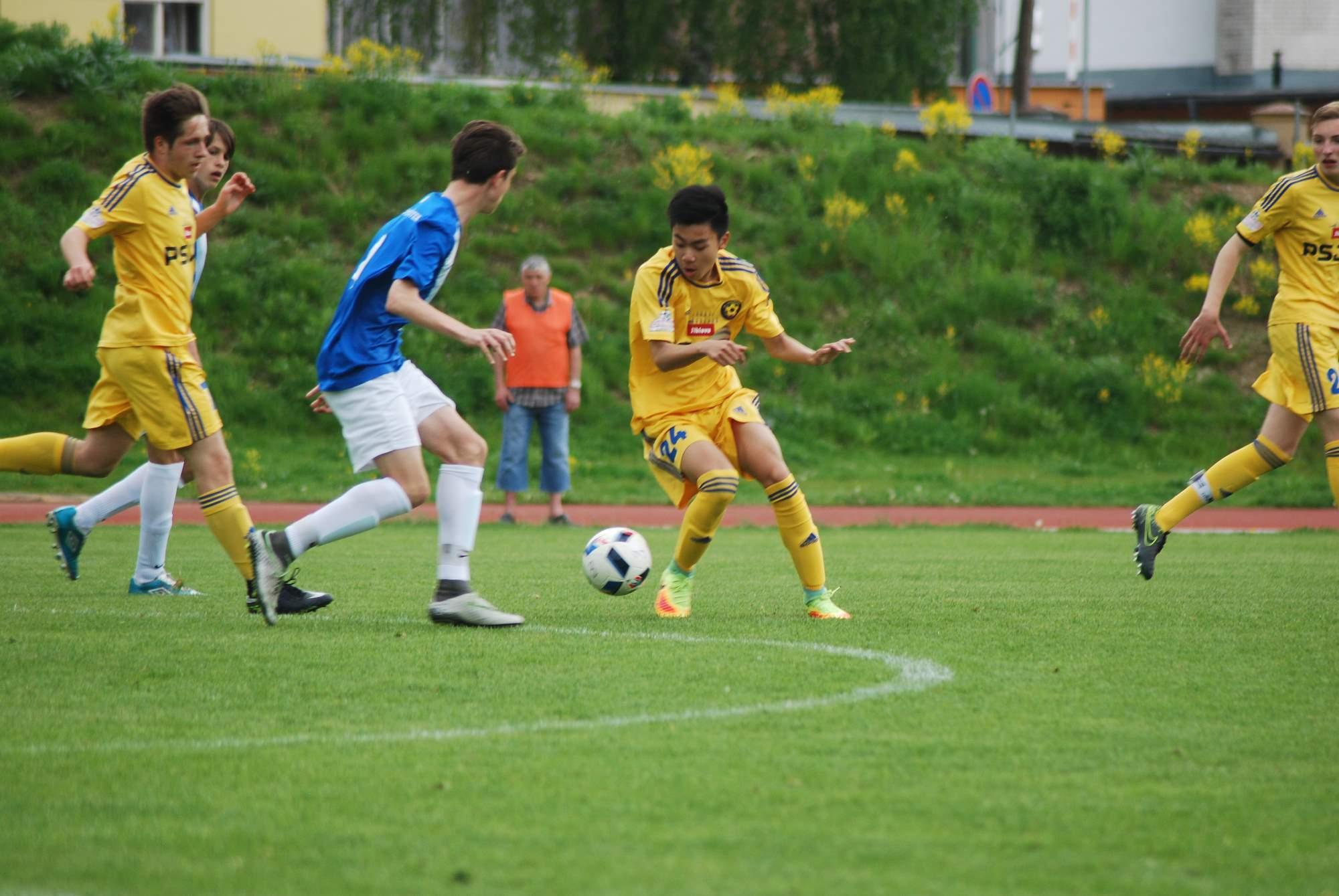 U16: Prohra s Frýdkem-Místkem po nepřesvědčivém výkonu