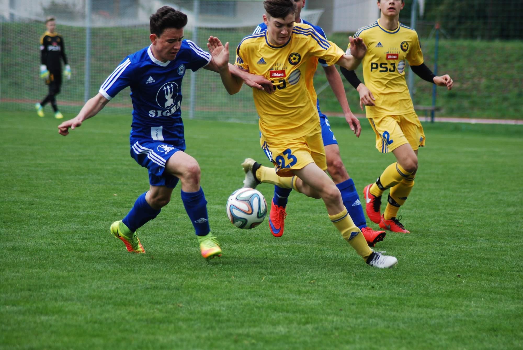 U16: Prohra s favoritem z Olomouce