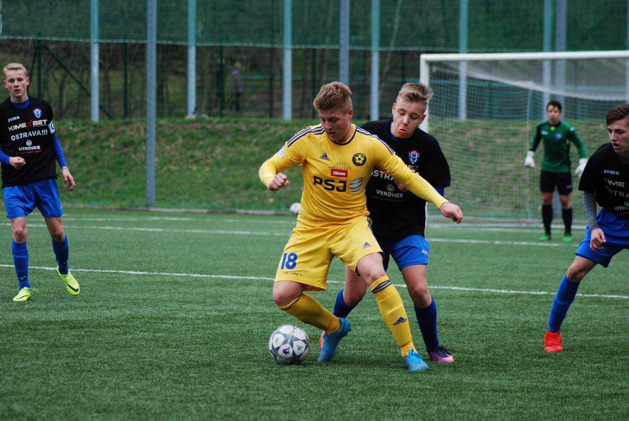 U16: Výhra proti Vítkovicím díky hattricku Šrámka během 9 minut!