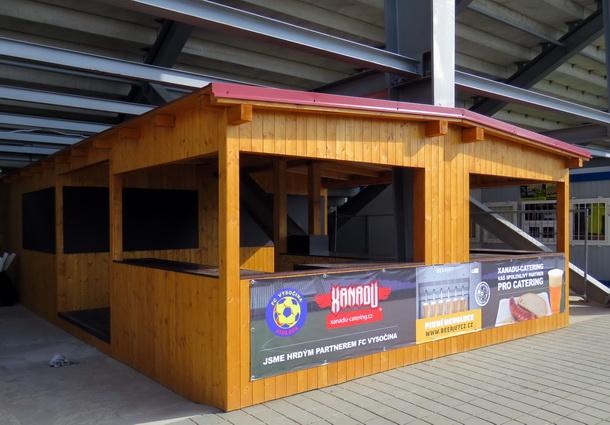 Na Pardubice budou otevřeny tři stánky s občerstvením