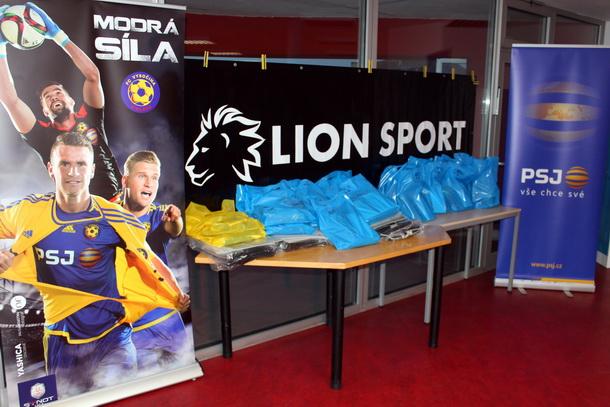 Získej slevu u společnosti Lion Sport.