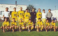 Desetiletí FC VYSOČINA JIHLAVA - jaro 2000