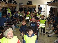 Stadión i hráče navštívily děti ze školek